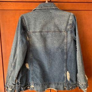 Blank NYC Jackets & Coats - Blank NYC Distressed Denim Jacket